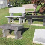 Benches available in various styles and colors...please contact us for a quote