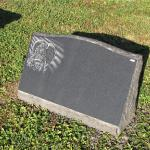 "G3-20-04A Hand-etched Angel Jet Black 30""L X 10""D X 18""H"